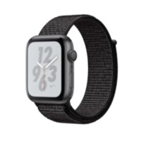Apple Watch Nike+ 4 (GPS + Cellular) 40mm Gray Alum. w. Anthracite/Black Nike Sport b. Gray Alum. (MTX92)