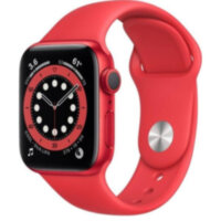 Apple Watch Series 6 GPS 40mm (PRODUCT)RED Aluminum (M00A3)