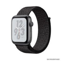 Apple Watch Nike+ 4 (GPS) 40mm Space Gray Aluminum Case with Black Nike Sport Loop (MU7G2)