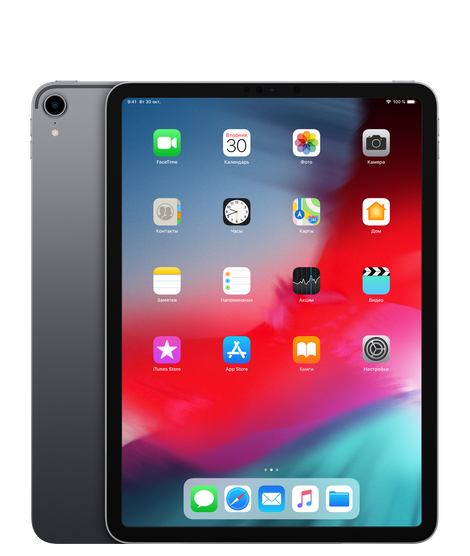 iPad Pro 11 512GB Wi-Fi Space Gray (MTXT2)