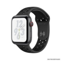 Apple Watch Nike+ 5 (GPS + Cellular) 44mm Space Gray Aluminum Case with Anthracite/Black Nike Sport Band (MX3A2)