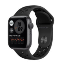 Apple Watch Nike Series 6 GPS 40mm Space Gray Aluminum (M00X3)