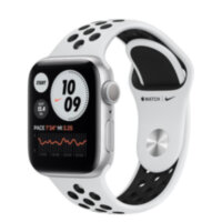 Apple Watch Nike Series 6 GPS 40mm Silver Aluminum (M00T3)