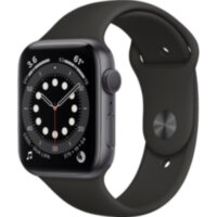 Apple Watch Series 6 GPS 44mm Space Gray Aluminum (M00H3)