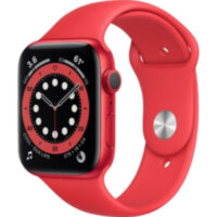 Apple Watch Series 6 GPS 44mm (PRODUCT)RED Aluminum (M00M3)