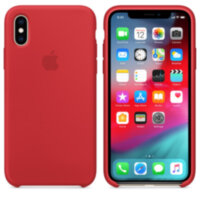 iPhone X/XS Силиконовый чехол - Product Red (High Copy)