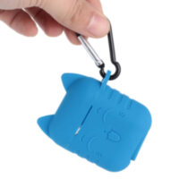 Protection Case Blue Kitty for AirPods