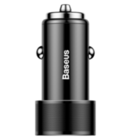 АЗУ Baseus 2 USB iPhone/iPad Black