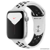 Apple Watch Nike+ 5 (GPS) 44mm Silver Aluminum Case with Pure Platinum/Black Nike Sport Band (MX3V2)