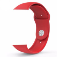 Red Sport Band With Steel Pin (high copy)