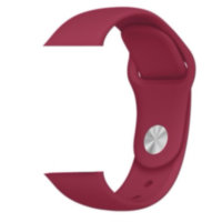 Rose Red Sport Band With Steel Pin (high copy)
