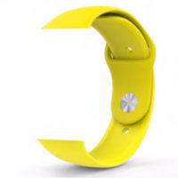 Yellow Sport Band With Steel Pin (high copy)