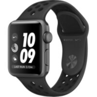 Apple Watch Nike+ 3 (GPS) 42mm Space Gray Aluminum w. Anthracite/BlackSport B. (MQL42)